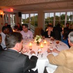 The enthusiasm was contagious as nearly 50 guests gathered for an exciting evening of networking and dinner at the O. Henry Hotel.