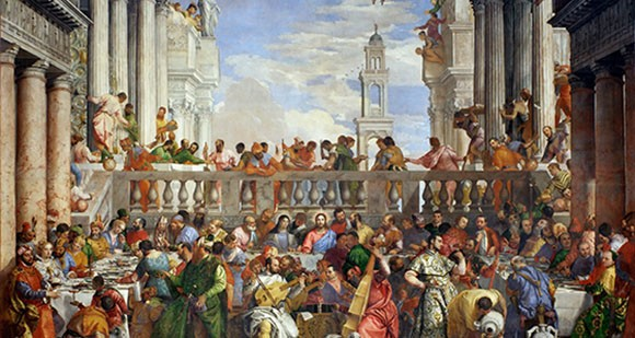 The Wedding at Cana, by Paolo Veronese