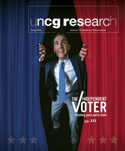 Click to read the 2016 spring UNCG Research Magazine