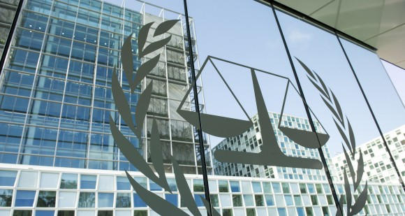 """Permanent Premises of the International Criminal Court"" by UN Photo/Rick Bajornas CC 2.0 Generic"