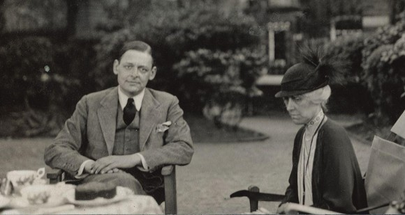 Photo of T.S. Eliot, 1934