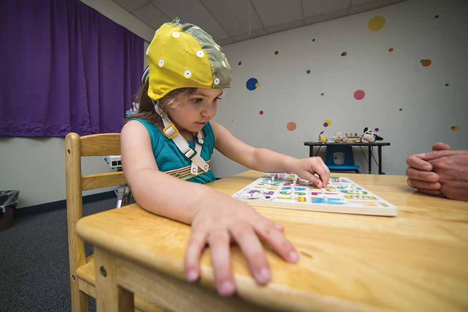 With a focus on the development of emotional, cognitive, and social skills in children, the STAR project seeks keys to early school success. Leerkes' current and former STAR collaborators, Susan Calkins, Stuart Marcovitch, and Marion O'Brien, hail from HDFS and the Department of Psychology.
