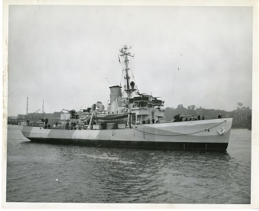 The Comanche [Photo provided by the U.S. Coast Guard Historian's Office]