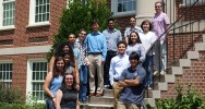 2017 UNCG Math-Bio REU participants [Photo provided by Dr. Olav Rueppell]